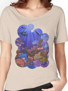 Underwater coral reef Women's Relaxed Fit T-Shirt