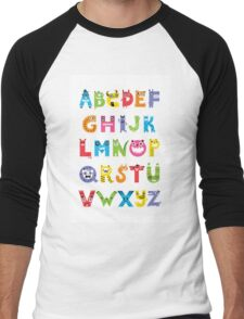Alphabet Monsters poster T-Shirt