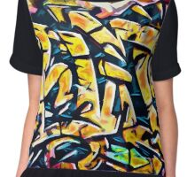 Graffiti #74 Chiffon Top