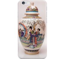 Japanese vase iPhone Case/Skin