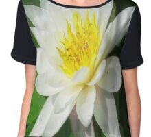 Water Lilly   Chiffon Top