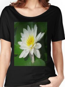 Water Lilly   Women's Relaxed Fit T-Shirt