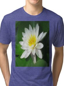 Water Lilly   Tri-blend T-Shirt