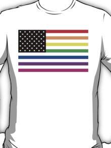 usa rainbow flag T-Shirt