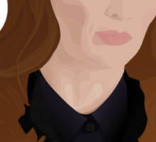 Detective Kate Beckett Sticker