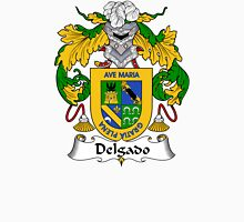 Delgado Coat of Arms/Family Crest Unisex T-Shirt