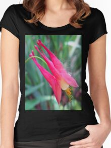 little pink Women's Fitted Scoop T-Shirt