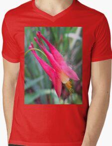 little pink Mens V-Neck T-Shirt