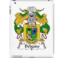 Delgado Coat of Arms/Family Crest iPad Case/Skin
