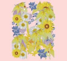Yellow Daisy Baby Tee