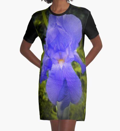 iris Graphic T-Shirt Dress