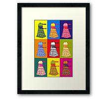 Andy Warhol Daleks Framed Print