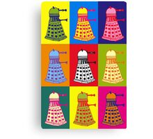 Andy Warhol Daleks Canvas Print