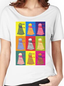 Andy Warhol Daleks Women's Relaxed Fit T-Shirt