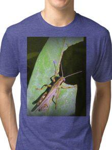 Grass Hopper  Tri-blend T-Shirt