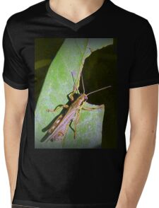 Grass Hopper  Mens V-Neck T-Shirt