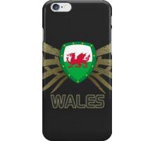 Wales Euro 2016 | Print ID 1-3 [grey]  iPhone Case/Skin