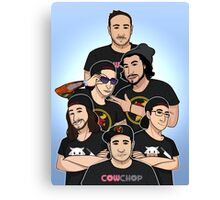 Cow Chop Group Canvas Print