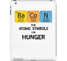 Atomic Symbol for Hunger iPad Case/Skin