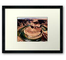 Horse Shoe Bend, Arizona Framed Print