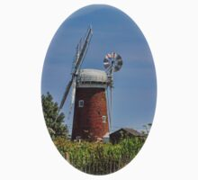 Horsey Mill Windpump Norfolk Kids Clothes