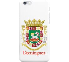 Domínguez Shield of Puerto Rico iPhone Case/Skin