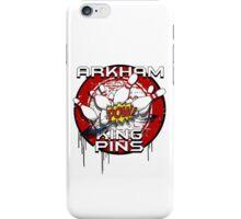 Arkham King Pins - Bowling Team T-shirt iPhone Case/Skin