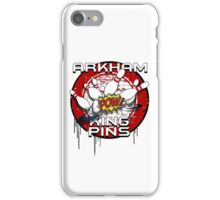 Arkham King Pins - Bowling Team T-shirt iPhone Case/Skin