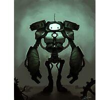 Sad Robot Photographic Print
