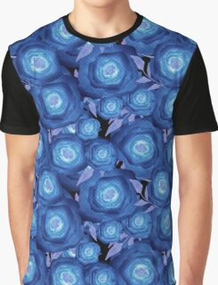 Seamless textile design Roses.  Graphic T-Shirt