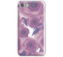 Seamless textile design Roses. iPhone Case/Skin