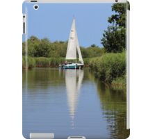 Sailing on the Norfolk Broads iPad Case/Skin