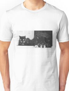 Friendship is just black and white T-Shirt