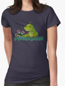 Dino fruit Womens Fitted T-Shirt