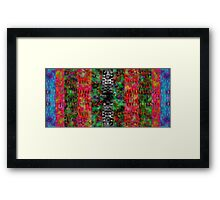 Field of Psychedelic Nightmares Framed Print