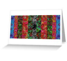 Field of Psychedelic Nightmares Greeting Card