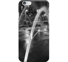 Union Station #4 (black and white) iPhone Case/Skin
