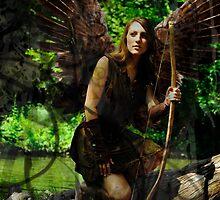 The Huntress Fairy by fairygirl