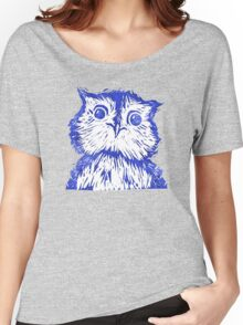 Smile When you're Blue  Women's Relaxed Fit T-Shirt