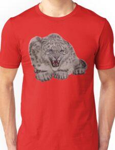 Snow Leopard - 'Protective Mother' Unisex T-Shirt