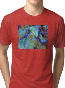 Aqua Forms Digital Tri-blend T-Shirt