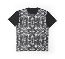Field of Black and White TV Graphic T-Shirt