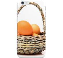 eggs in one basket iPhone Case/Skin