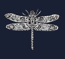 Dragonfly Doodle One Piece - Short Sleeve