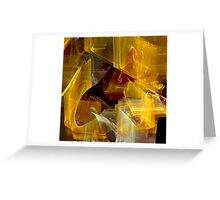 Not So Mellow Yellow Greeting Card