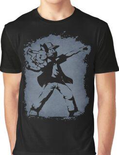Banksy Pokeball Graphic T-Shirt