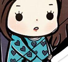 Allison Argent Sticker