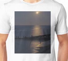 Moonlight on the North Sea Unisex T-Shirt