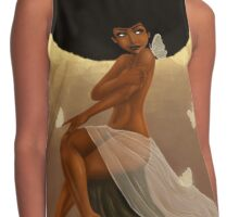 Fro and Butterflies Contrast Tank