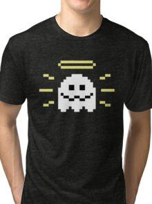 8-Bit Holy Ghost Tri-blend T-Shirt